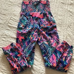 Lilly Pulitzer 6/7t romper nwt